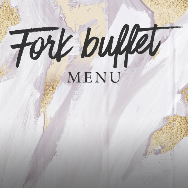 Fork buffet menu at The Apple Tree