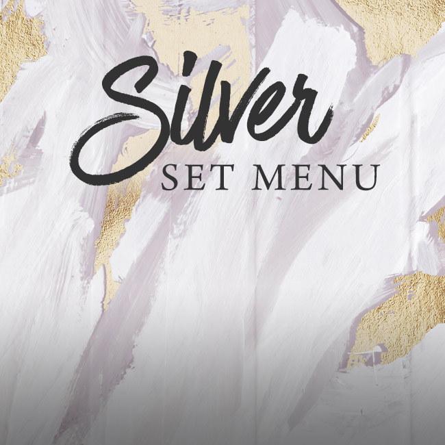 Silver set menu at The Apple Tree
