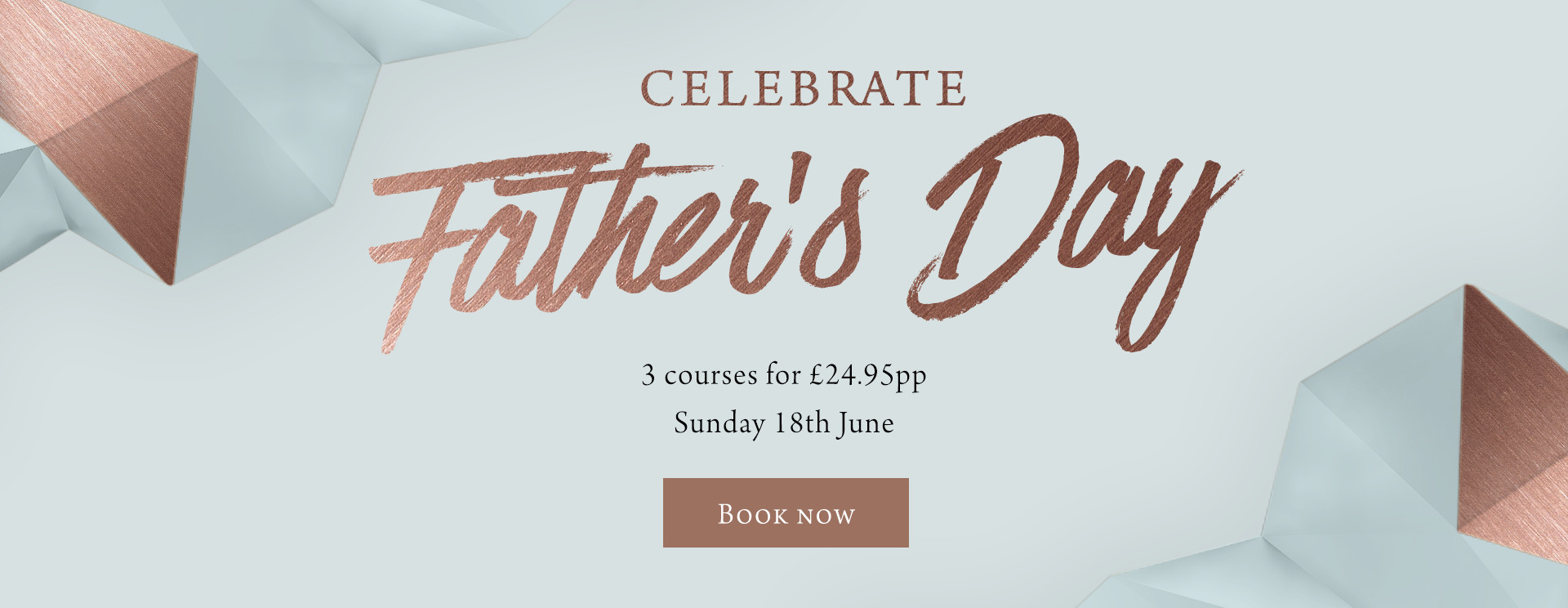 Father's Day at The Apple Tree - Book now