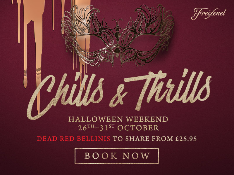 Chills & Thrills this Halloween at The Apple Tree